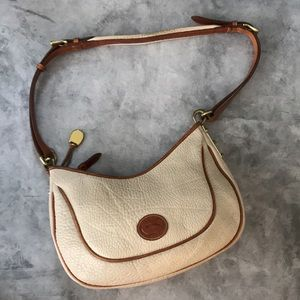 Vintage Tan and brown leather purse